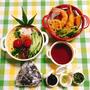 おにぎりの日にセリア人気のBONHEURでソーメン弁当・ひよこ豆のパコラ・父の日