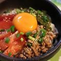 めかぶ納豆☆トマトの冷しゃぶサラダうどん♪ 子猫の救出作戦! by manaさん