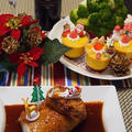 日経ウーマンオンラインで掲載【クリスマスのおもてなしに★ブッシュドノエル風ガランティン】 by とまとママさん