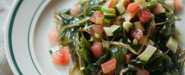組み合わせで食感も楽しめる♪簡単&栄養満点「海藻サラダ」