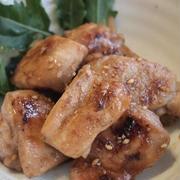 鶏のポン酢炒め