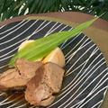 レシピはお酢でさっぱり柔らか煮豚~今日は交流センターのお仕事です。