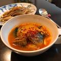 今年の「世界食料デー」にゼロハンガーレシピ「キムチと鯖缶のチゲ」。