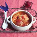鶏胸肉とキャベツと舞茸のトマトスープ(ダイエット)