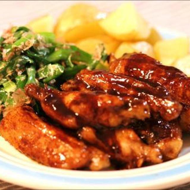 ■バルサミコ酢で、あっさり鶏のBBQ風■