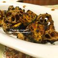 *【レシピ】揚げかぼちゃと蓮根の胡麻和えとパンプキンパイ*