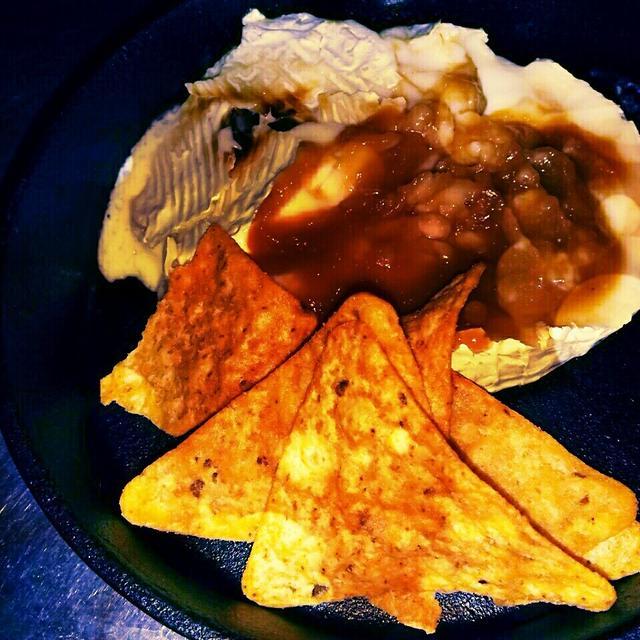 カマンベール味噌チーズディップ