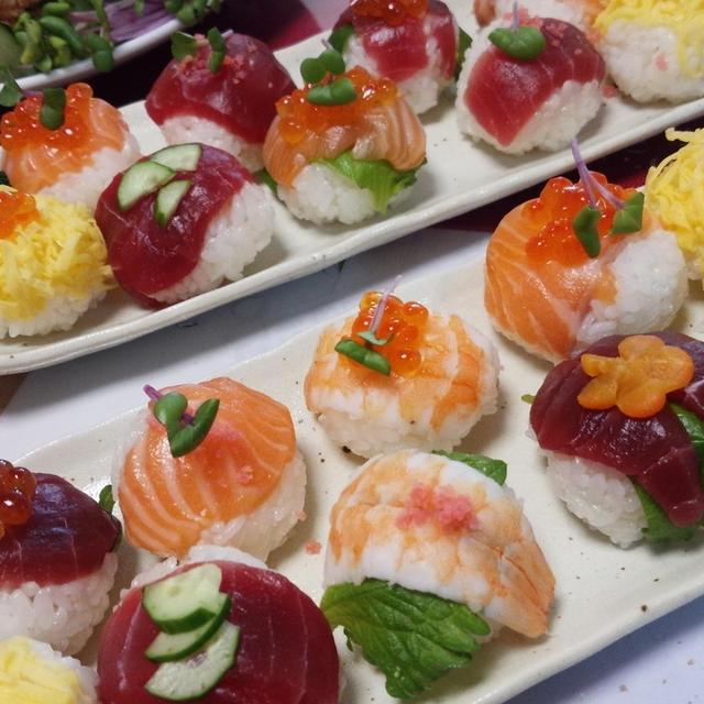 お祝い寿司☆第二弾