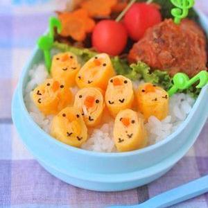 脱マンネリ!お弁当の定番、卵焼きをデコアレンジでかわいく♪