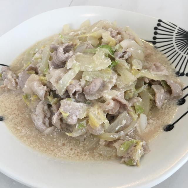 めちゃウマ!白菜と豚バラのとんこつ風煮