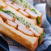 【ほぼ放置で】しっとりジューシー「鶏むね肉チャーシュー」には北京ダック風タレがよく似合う!【サンドイッチで】