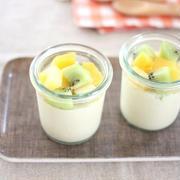 レモン風味♪さっぱり豆乳プリン(卵・乳不使用)