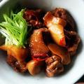 杏鮑菇燒雞片│エリンギと鶏肉の醤油炒め