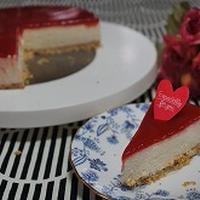 フランボワーズゼリーチーズケーキ