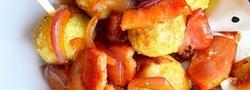 秋の味覚「里芋」を使った洋風おかず