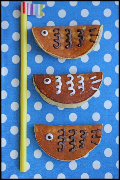 子どもの日に♪ホットケーキミックスで簡単!もちもち鯉のぼりどら焼き