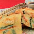 チヂミは副菜献立じゃない!本格仕上げの海鮮チヂミレシピ・作り方 by 銀木さん