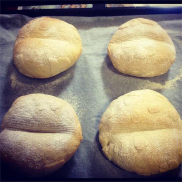 初めての手捏ねフランスパン