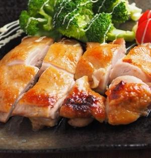 鶏もも肉の柚子こしょうぽん酢焼き
