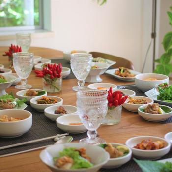 秋の韓国料理レッスン 最終日
