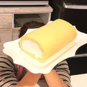 グルテンフリーの米粉ロールケーキです!!