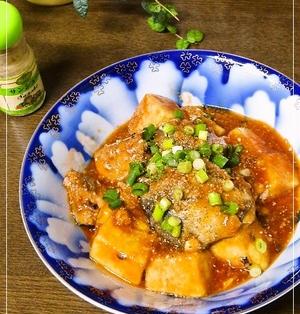さば水煮缶と高野豆腐✿鯖のケチャップ煮