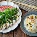 【炊飯器調理】ちくわチャーハンとよだれ鶏の中華献立〜どさんこワイドレシピ〜