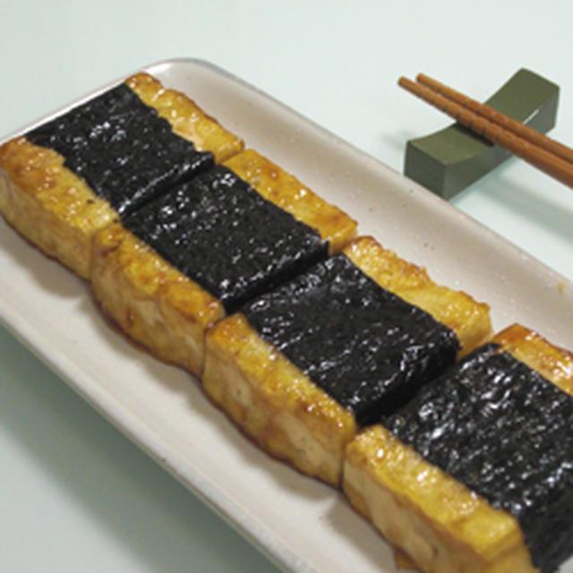 海苔巻き豆腐ステーキ