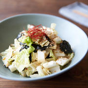 白菜使い切りに、韓国風白菜サラダ