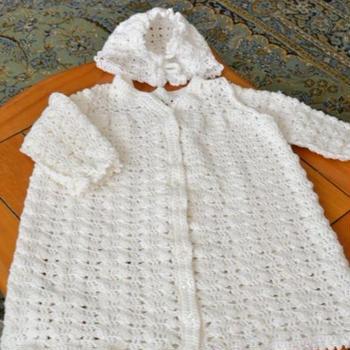 マイブーム編み物専科(8)ベビードレス