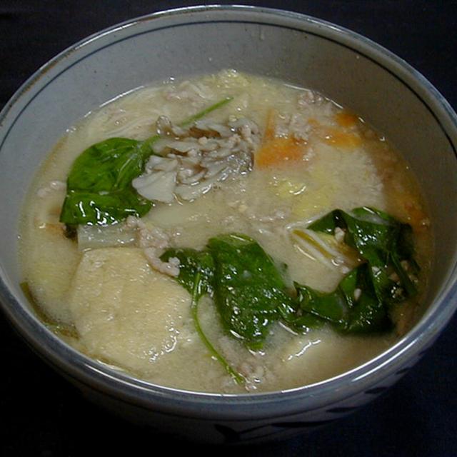 味噌にゅう麺