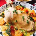 骨つき鶏もも肉の南瓜スープ【staubで無水調理】(動画有)