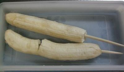 バナナアイスキャンディ