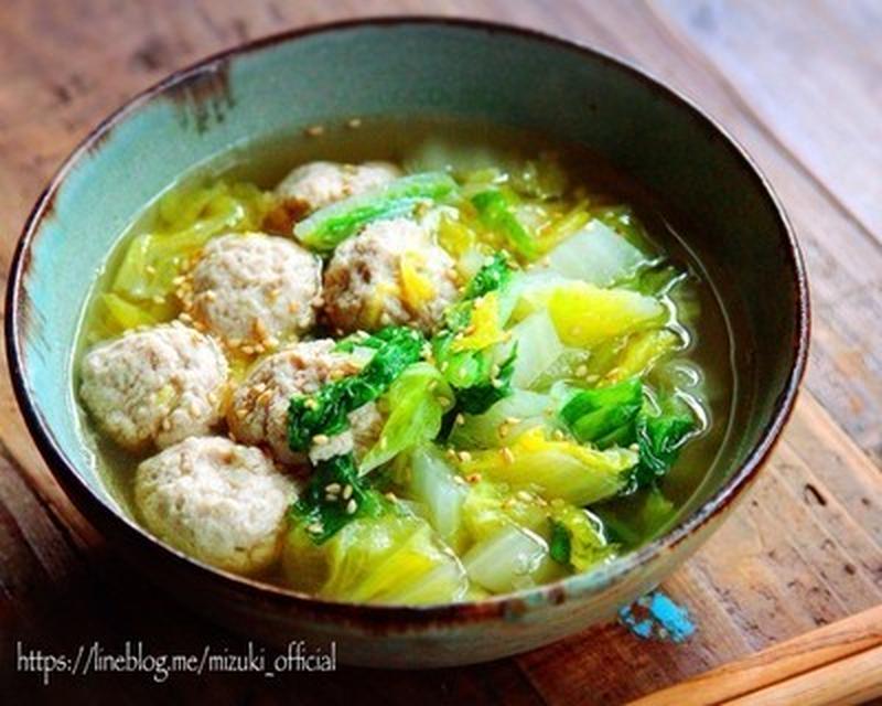 ボリュームたっぷり!寒い夜に食べたい「肉団子スープ」