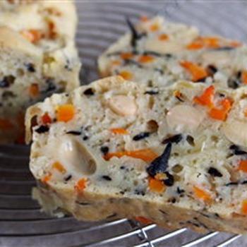 大豆とヒジキのスパイシ―ケークサレ♪卵・乳製品不使用。