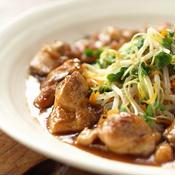 スターアニスで中華風甘酢鶏