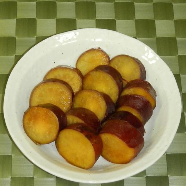 炊飯器でサツマイモの甘露煮