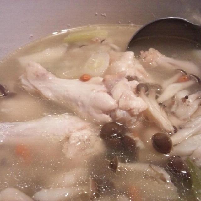 【参鶏湯風鍋】