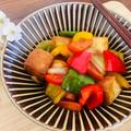 厚揚げと彩り野菜の甘酢あん