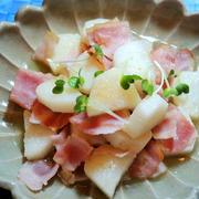 「ヤマキの割烹白だし」と山芋とベーコンで☆定番のさっと煮~♡