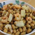 簡単和総菜☆シーフードミックス&大豆煮物 by kaana57さん