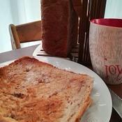 焦がしミルクチョコとシナモンのスイートパン