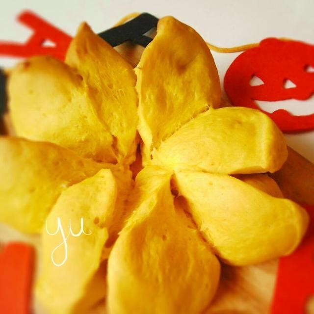 ハロウィンに♪そのままかぼちゃパン
