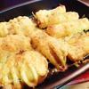 長葱とじゃが芋のマヨチーズ焼き