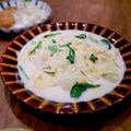 貝柱と白菜のミルク煮