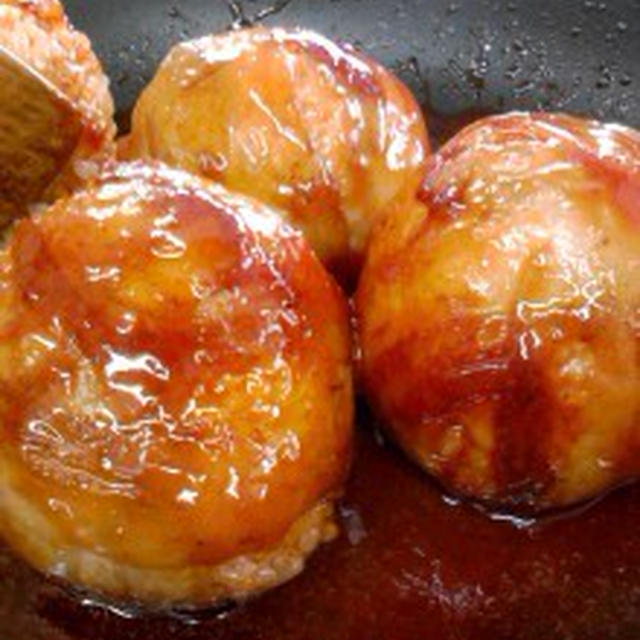 『肉巻きおにぎり』レシピ