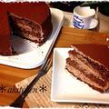 【バレンタインに】ふわふわとろける生チョコケーキ by *akitchen*さん