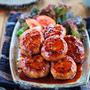 ♡鶏つくねの生姜焼き♡【#簡単レシピ#時短#節約#ひき肉】