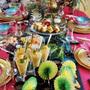 素敵なエスニックテーブルでポットラックパーティー♪