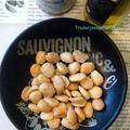 トレーダージョーズのトリュフオイルとトリュフ塩、コストコのマルコナアーモンドでトリュフマルコナアーモンドの作り方 レシピ